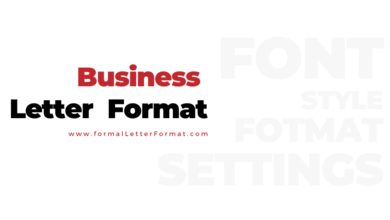 Photo of Business Letter Format: Business Letter Samples, Business Letter Templates and Examples