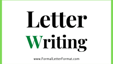 Photo of Letter Writing Format – Letter Writing Types – Formal Letter, Informal Letter, Samples, Templates, Topics