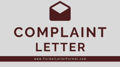 Photo of Letter of Complaint Writing, Format, Samples and Examples – Professional Complaint Letter – Polite Complaint Letter