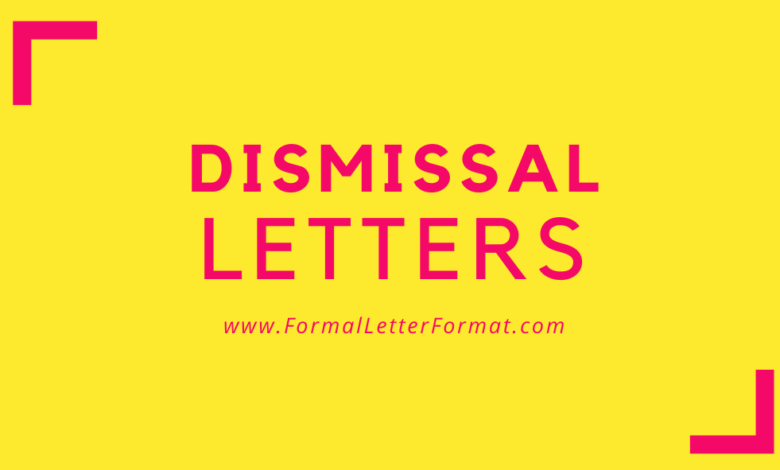 Photo of Dismissal Letter – Letter of Termination Content and Format: Introduction