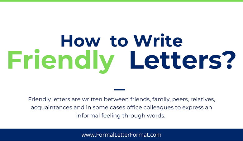 Photo of Friendly Letter Format: How do people Write Friendly Letters to Each Other? – Friendly Letter Sample and Template Making