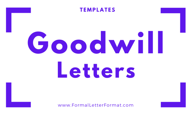 Photo of Goodwill Letters: Thankyou Letters, Sympathy Letters, Congratulatory letters format, samples, and templates