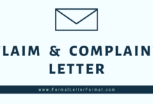 Photo of How to Write an effective Complaint Letter? – Letter of Complaint and Claim Sample, Format and Template