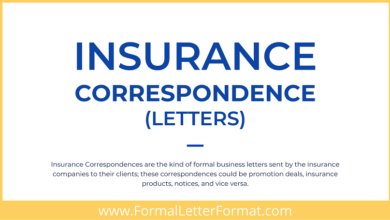 Photo of Insurance Correspondence Letter Types, Principle, Format and Types of Insurance Correspondence Letters