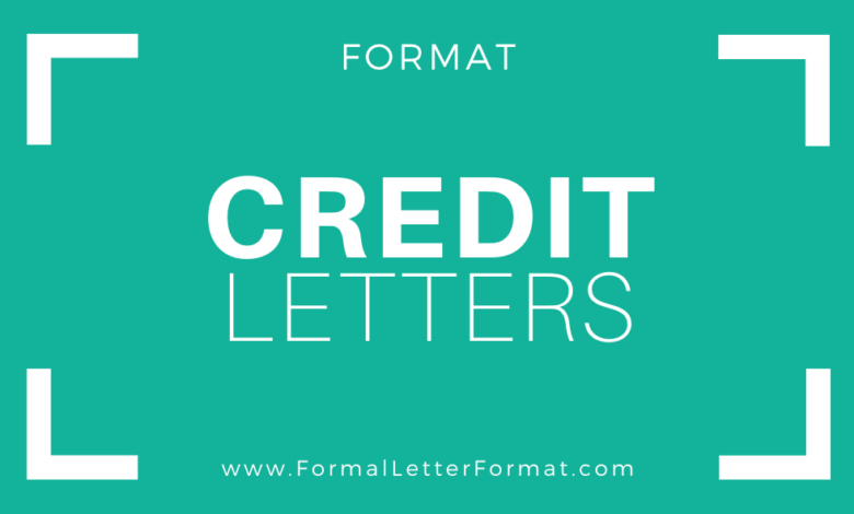 Photo of Letter of Credit Explanation: Letter of Credit Format, Credit Letter Samples, Credit Letters Templates