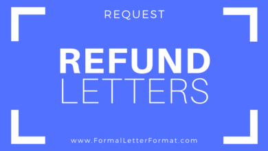 Photo of Refund Request Letter Format: How To Ask for a Refund in English Language