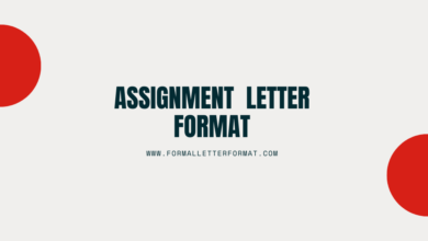 Photo of Rights Assignment Letter Format: Letter of Assignment Sample and Template